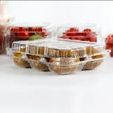 Ясная пластичная коробка упаковки любимчика для плодоовощ/Vegetable (коробки кивиа пластичного подноса)