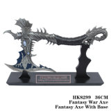 Decoração 36cm da tabela da faca da fantasia da faca do dragão