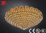 Traditionelle Kristalldecken-Lampe mit Glasdekoration