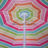 주문을 받아서 만들어진 로고 경사 정원 큰 우산 양산