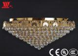 De traditionele Lamp van het Plafond van het Kristal met de Decoratie van het Glas