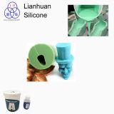 石鹸型のSilicona LiquidaパラグラフHacerのシリコーンゴム