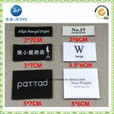 Melhor etiqueta tecida do tamanho roupa feita sob encomenda superior (JP-CL054)