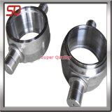 Il CNC anodizzato dell'alluminio ha girato il pezzo meccanico lavorato tornio
