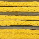 Alimentación marina 12 Strand UHMWPE cuerda de la línea de muelle de atraque de buques