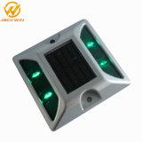 Olho de Gato impermeável LED solar de alumínio refletivo Road Prisioneiro (JW-12D)