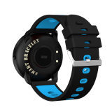 Imperméable IP68 Smart Watch Moniteur de fréquence cardiaque de la bande de vibration Bluetooth Bracelet de l'appelant Smartband Fitness Sport Tracker