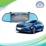 """7 """" 3G車のカメラDVR GPS Bluetooth二重レンズのバックミラーのアンドロイド5.0のビデオレコーダー完全なHD 1080Pの自動ダッシュカム"""