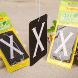 Diseños personalizados de papel de coche de la tarjeta de perfume ambientador (YH-AF256)