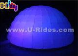LEDの結婚式のための膨脹可能なイベントのドームのテント