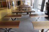Tabella costruita Tabella di legno solido dell'impiallacciatura di Coffice della Tabella di congresso
