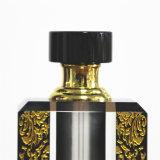 [جينجج] [برفوم بوتّل] سوداء زجاجيّة بلّوريّة مع الذهبيّة لون أسلوب ينحت
