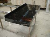 Encimera de granito negro diseñado en mármol de cuarzo encimera de cocina