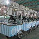 Approvazione italiana del CE del carrello della visualizzazione del gelato