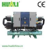 Tipo refrigerador do parafuso do Ce de água industrial com recuperação de calor, Bitzer Comprssor
