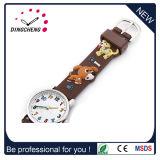 Le carton créateur de courroie de silicones de Noël badine la montre de quartz