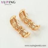 Небольшой Xuping моды 18K полой конструкции Earring выдвижных дуг для женщин
