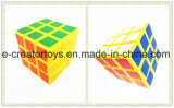 3-orde Magische die Kubus 6PCS van Grappig Speelgoed wordt gemengd