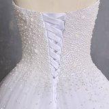 Амели скалистых 2018 Strapless Высокая Низкая тюль свадебные платья
