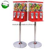 금속 대 세겹 사탕 Gumball 공 자동 판매기