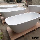Vasca da bagno indipendente di pietra di superficie solida acrilica ovale di Sanitaryware (BT170929)