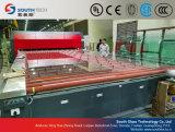 Línea de transformación plana doble del vidrio Tempered de las cámaras de calefacción de Southtech (TPG-2)