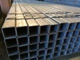 Perfil de acero del tubo del hierro del cuadrado del tubo del tubo de la sección de acero rectangular de acero negra de la depresión en Tianjin