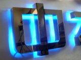 Carta auto del LED que hace publicidad de la dobladora del canal del metal de la muestra 3D