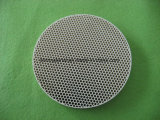 En forma de panal de cerámica refractaria cordierita mullita Disc