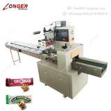 Máquina de embalagem de empacotamento do fluxo da barra elevada do cereal de Qaulity