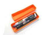 Rectángulo de lápiz modificado para requisitos particulares insignia lisa lavable irrompible del silicón, rectángulo del papel del silicón, cajas de lápiz del silicón