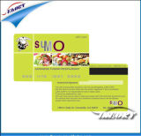 Espacio en blanco del interfaz dual 1K S50 y tarjeta de la raya magnética de Hico