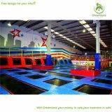 Fabricación comercial de interior grande de calidad superior del parque del trampolín del Dreamland