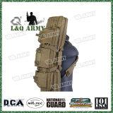 """Tactical 36"""" Molle Pistola Airsoft Duplo saco almofadado"""