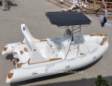 Liya 5.8mの専門家のボートの製造の堅く膨脹可能な巡航のボートのディンギー