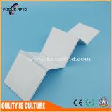 Des China-Fabrik-Preis UHFRFID Code-Chip Papier-Kennsatz-NXP U passen Größe an