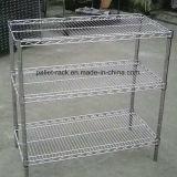 Wire Mesh personnalisé Étagère de racks, Light Duty Racks, Mini étagères