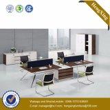 China personalizou a mobília de escritório de madeira da estação de trabalho do MDF (HX-TN157)