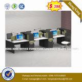 4개의 시트 똑바른 책상 워크 스테이션 다발 지원실 분할 (HX-8NR0452)