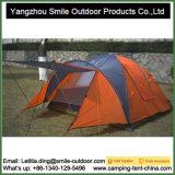 Promotion polyester 190T PU tente de camping en plein air de pliage