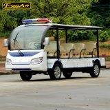 Шина патруля автомобиля 11 Seater электрическая Sightseeing