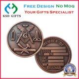 античные монетки возможности эмали металла сувенира 3D