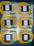 divisor do PLC da gaveta do ABS da fibra G657A1 de 1*32 2.0mm com conetor de LC/APC