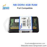 中国のラップトップのRAM 4GB DDR4からのコンピュータ部品