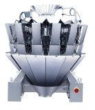 Pesador de pila de discos y de pesaje automatizado automático de Multihead para los alimentos de bocado