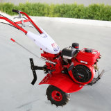 熱い販売の小型高性能ガソリンディーゼル力の耕うん機機械