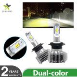 12000r/min voyant de température de couleur Double ampoules de phares H4