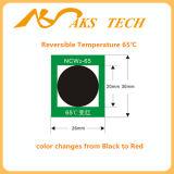 Suministro Industrial sensible adhesivo de la temperatura de cambio de color.