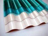 Poliéster reforzado con fibra de vidrio ondulado GRP FRP Roofing hoja, el Cartón Ondulado