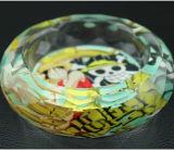 De Japanse Gift van de Derivaten van het Beeldverhaal van de Schedel van Anime Ééndelige Op Luffy Creatieve Rokende voor Asbakje van het Kristal van de Slaapkamer van de Ventilators van de Mens het Draagbare